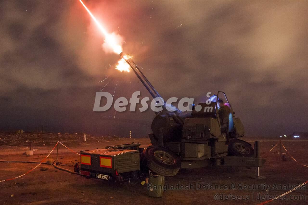 Bangladesh Army's air defence capabilities