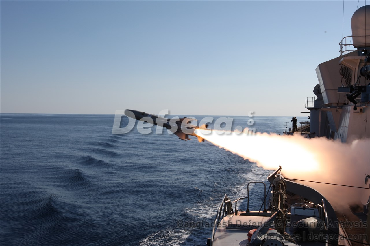 Bangladesh Navy's most advanced anti-ship missile