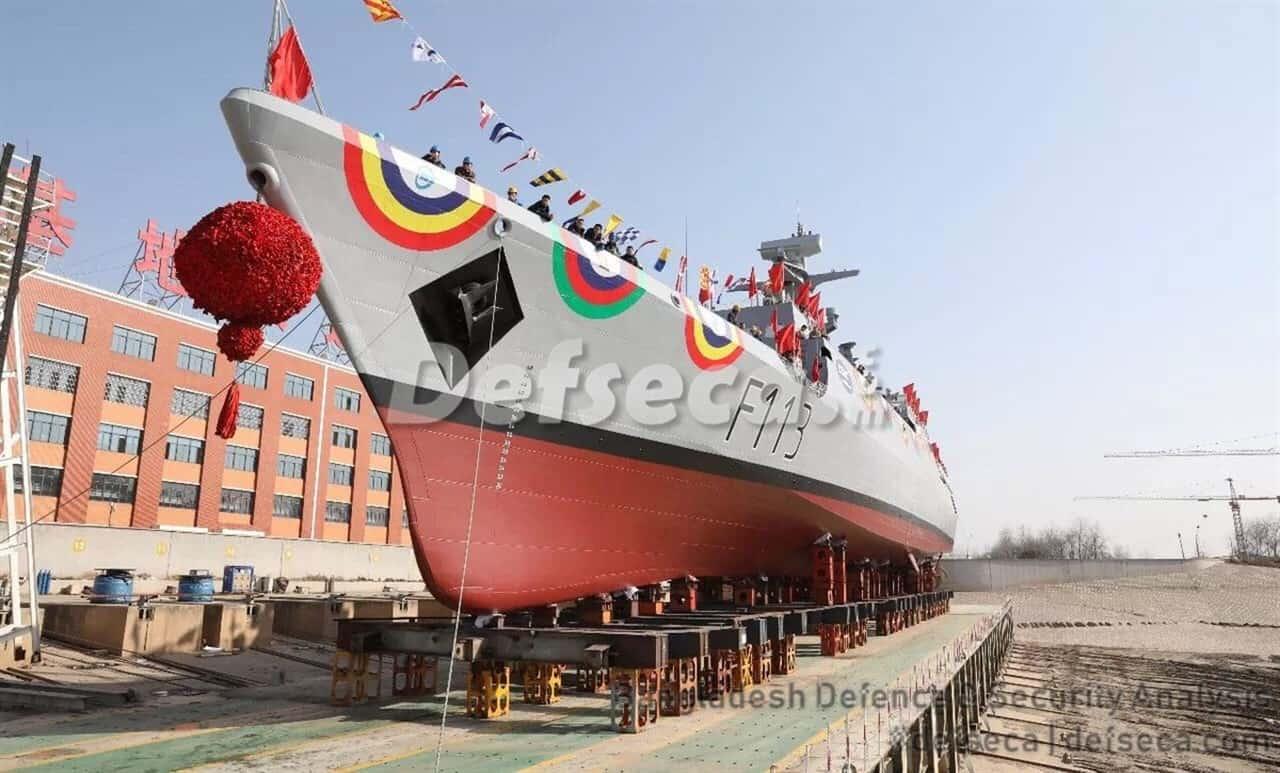China exported dozens of warships to Bangladesh