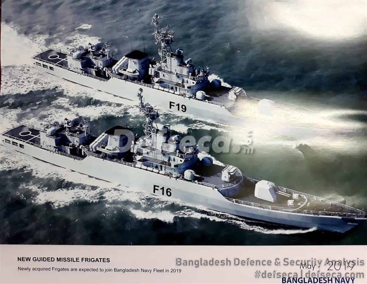 Jiangwei II class frigates to join Bangladesh Navy in 2019