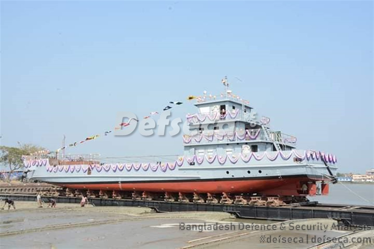 Khulna shipyard launches LCU's for Bangladesh Navy