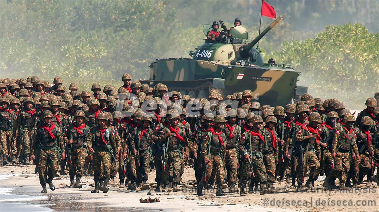 Review of Myanmar Army's organisational structure