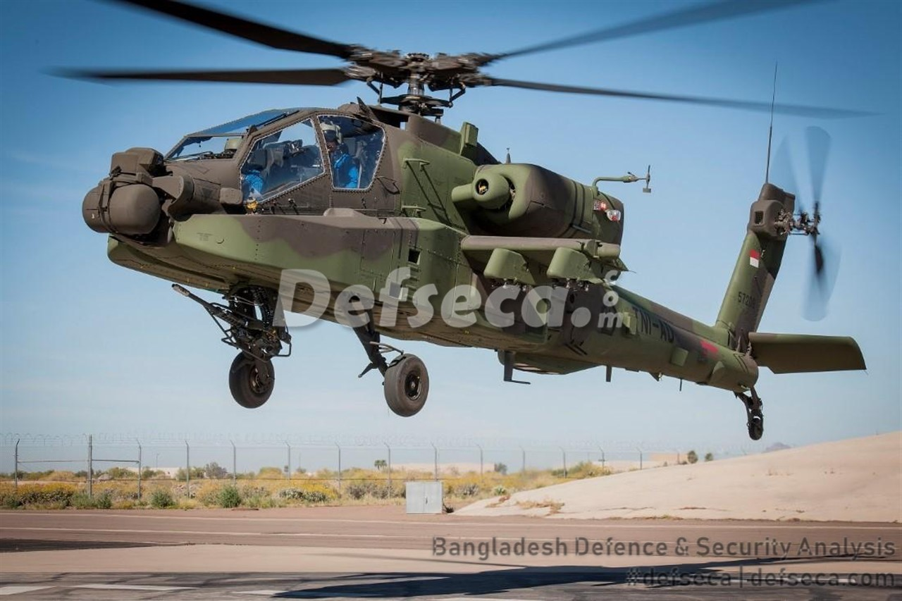 Bangladesh seeks Apache attack helicopters, transport aircraft from US