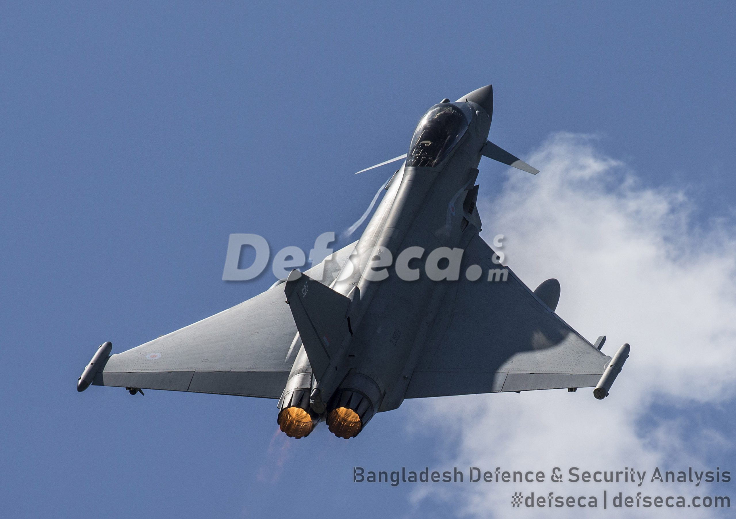 Eurofighter Typhoon high calibre fighters to defend Bangladesh