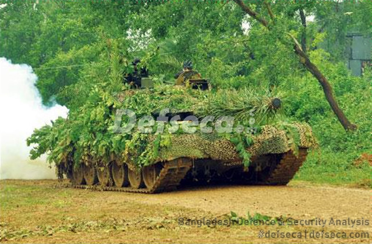 Multi-spectral camouflage usage in the Bangladesh Army