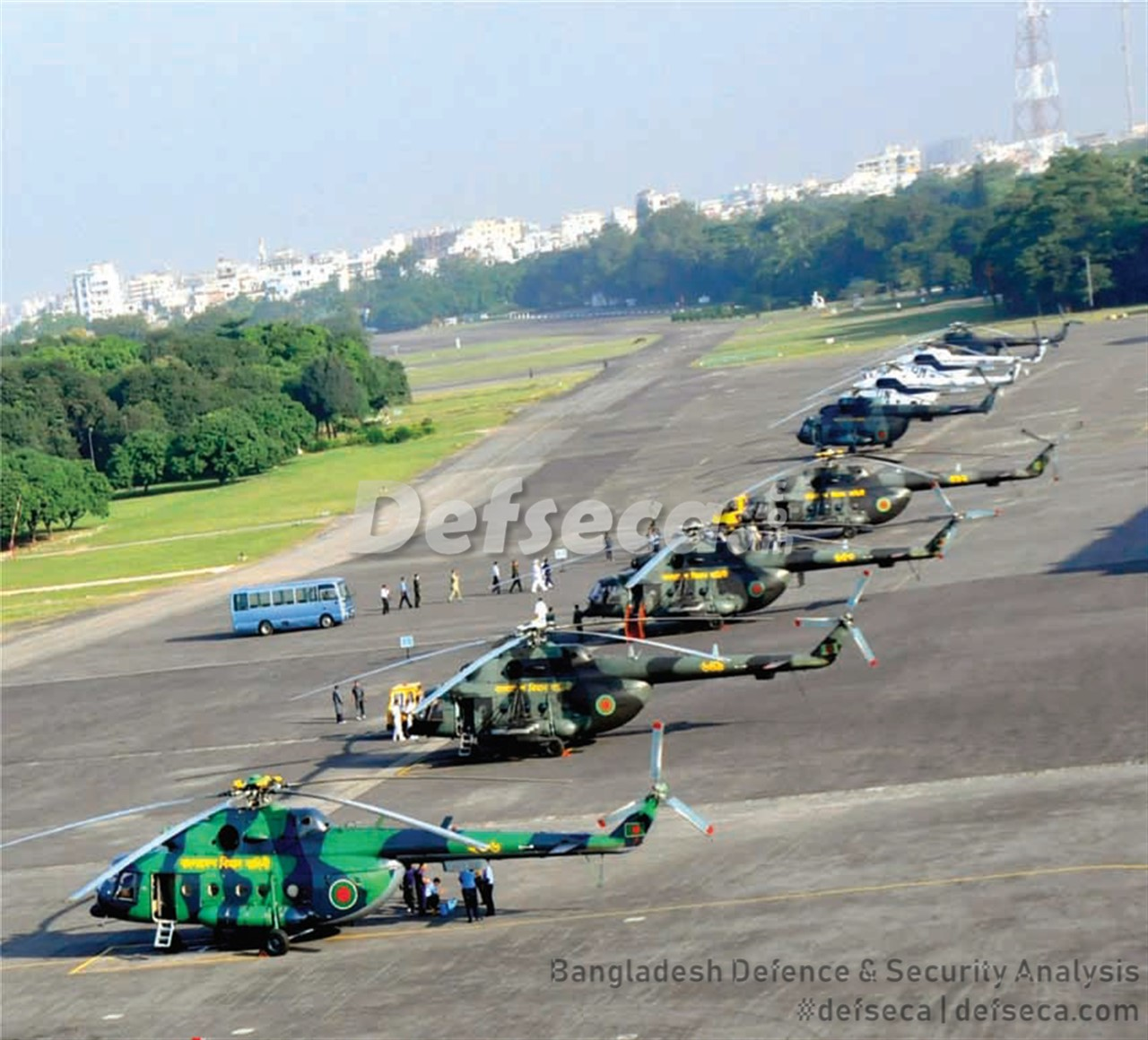 Over 40 helicopters being purchased by Bangladeshi forces