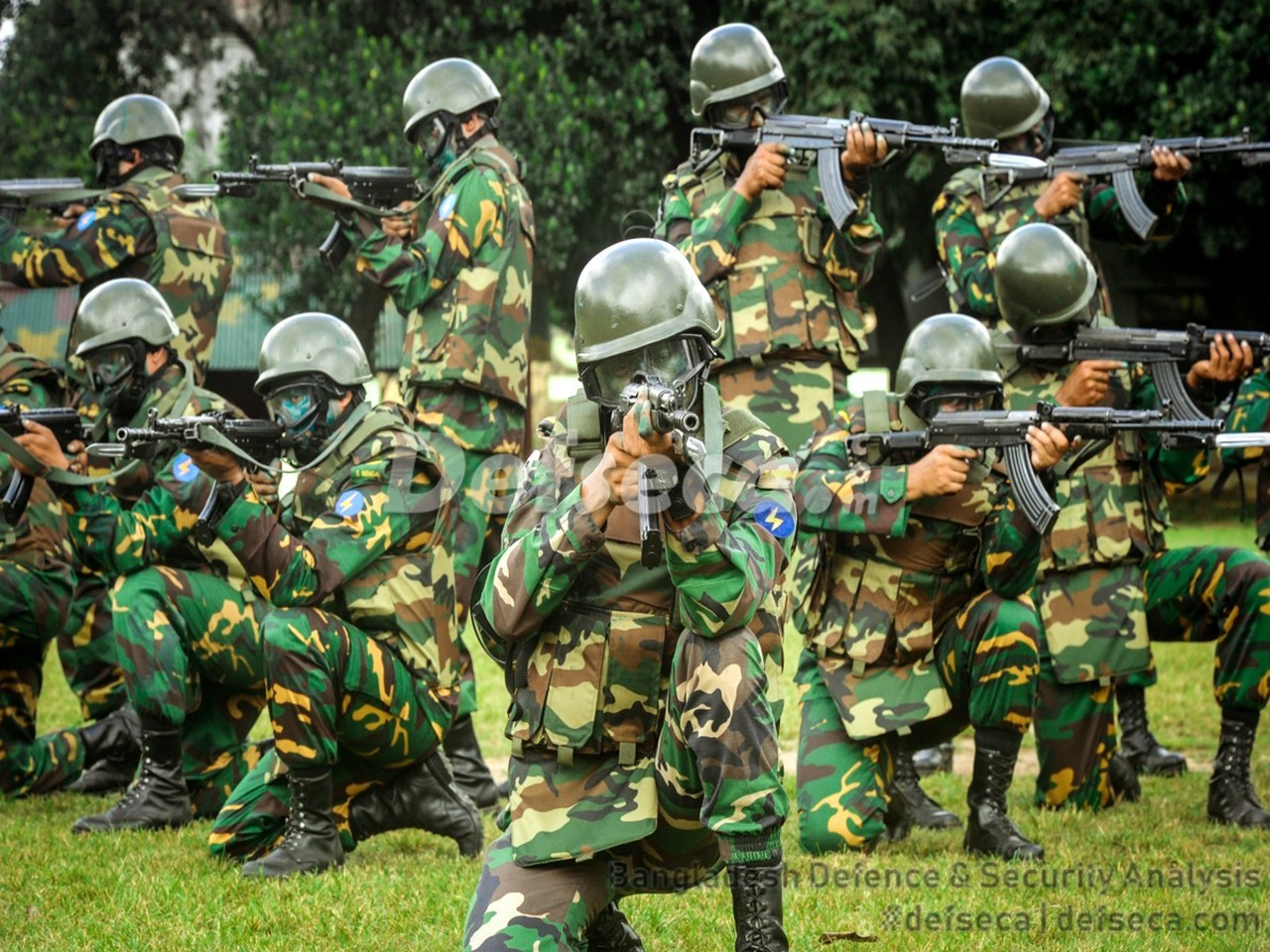 The Infantry Battalion in the Bangladesh Army
