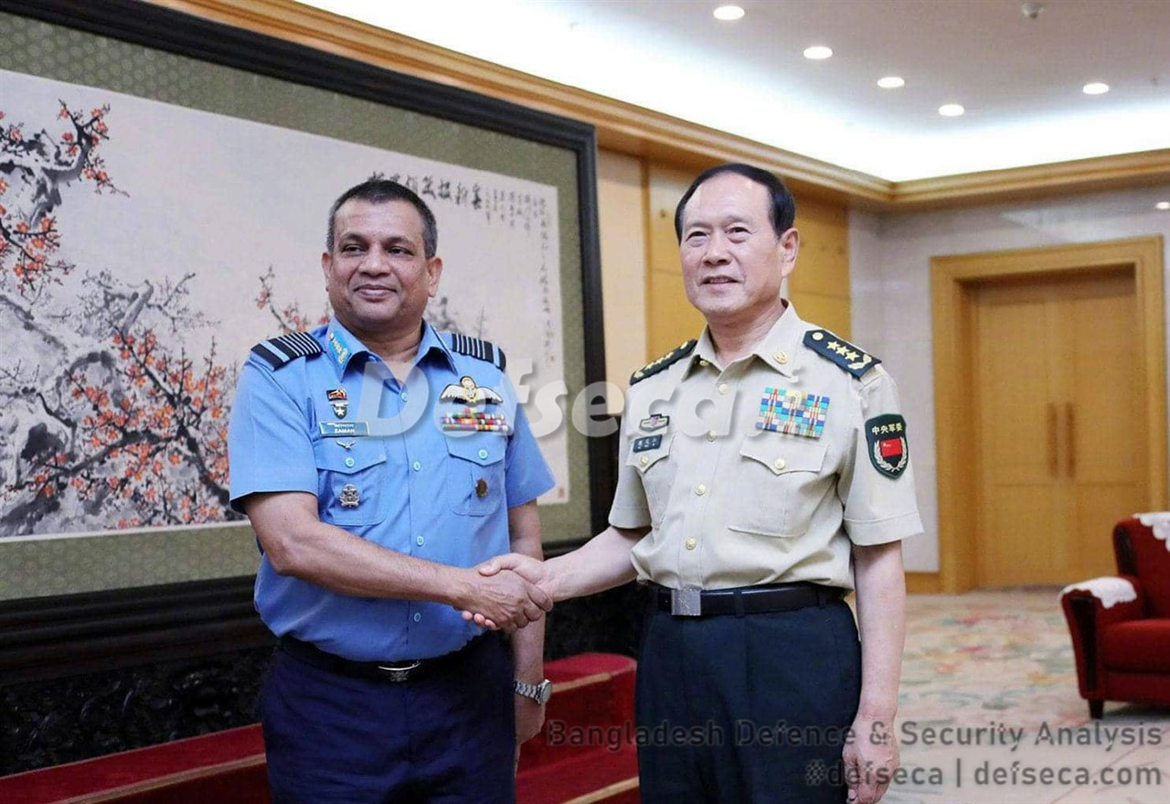 Bangladesh Air Force to replace F-7 interceptors with Chinese fighters
