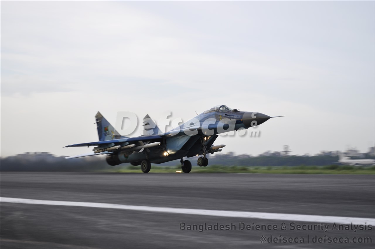 Bangladesh Air Force won't upgrade MiG-29 fleet