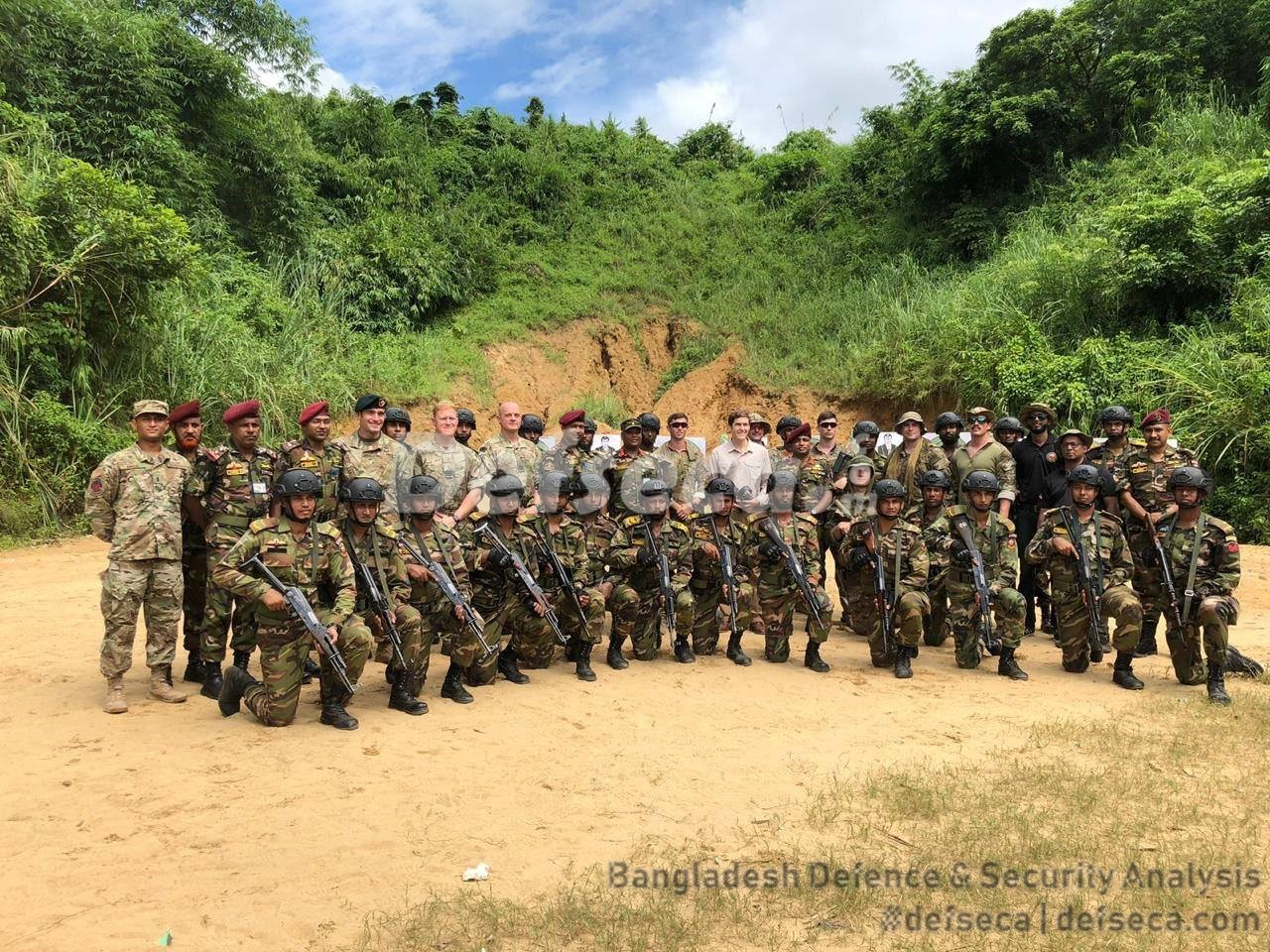 Bangladesh-US Special Forces exercises held in Sylhet