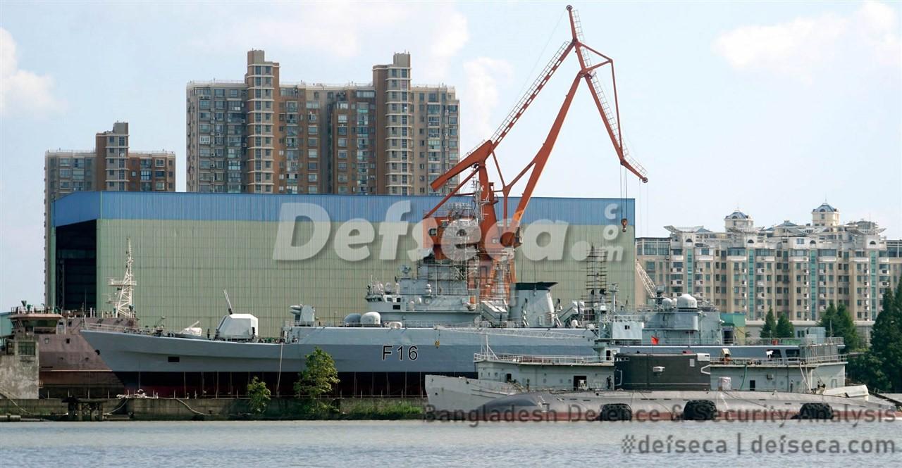 China readying frigates for Bangladesh Navy