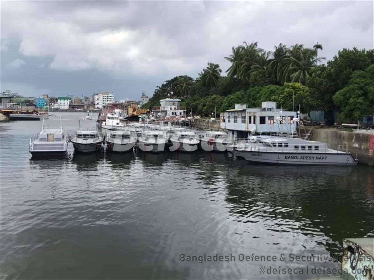 DEW readies composite patrol boats for Bangladeshi forces
