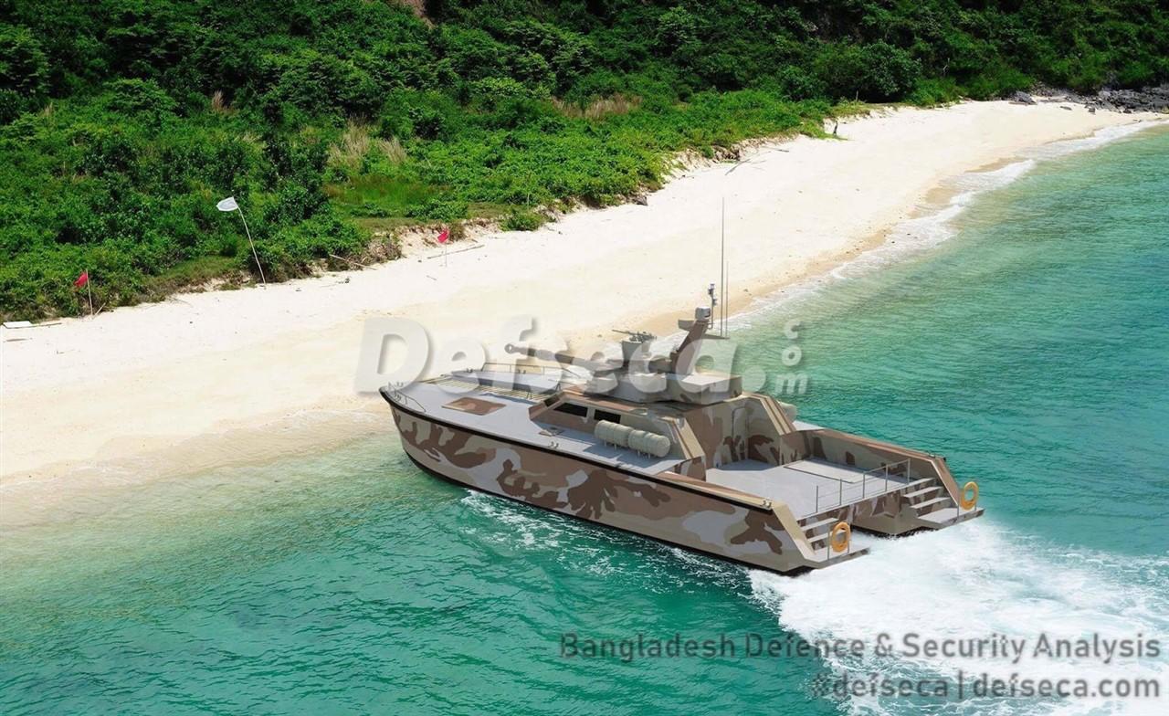 X18 tank boat for Bangladesh Army