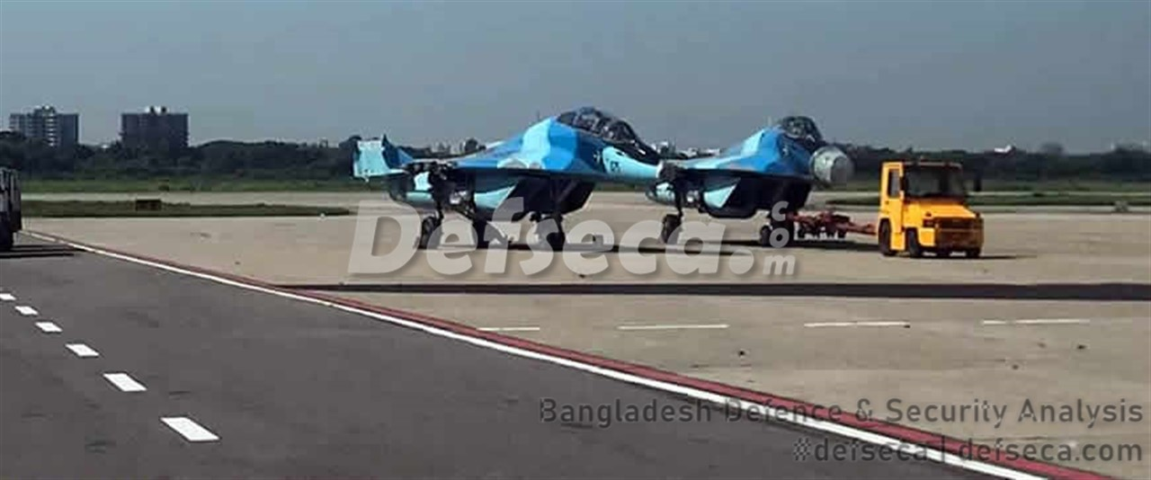 Bangladesh Air Force sends MiG-29 fleet to Belarus for upgrade