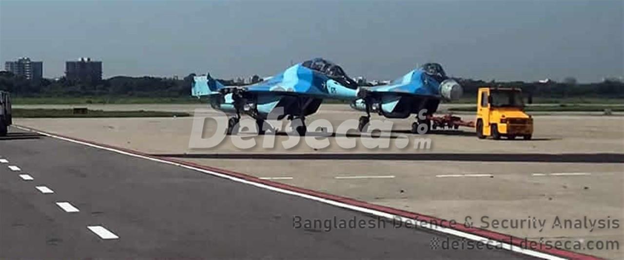Bangladesh Air Force sends MiG-29 fleet to Belarus for upgrade