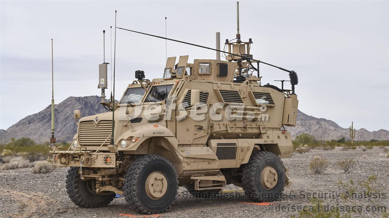 Bangladesh Army purchases MaxxPro MRAP