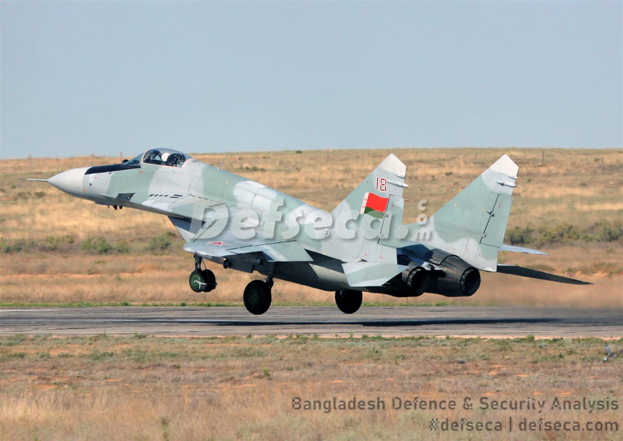 Bangladesh seeks Belarus's help to upgrade MiG-29 fleet