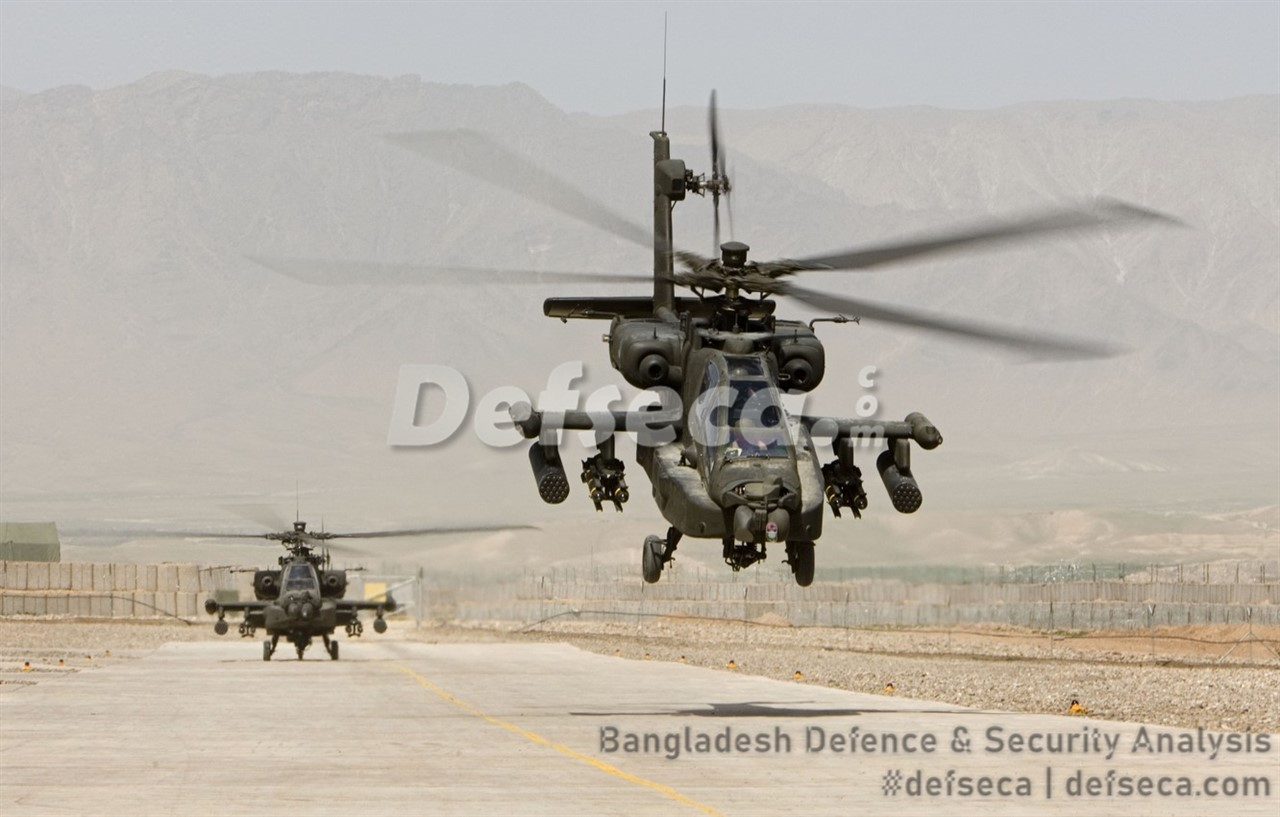 US-Bangladesh Apache attack helicopter deal on the horizon
