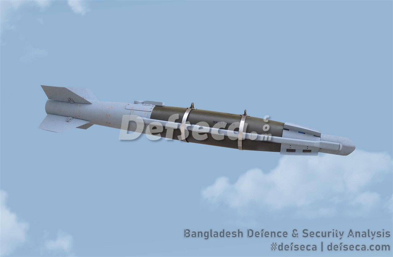 Bangladesh Air Force F-7 fleet gets Turkish laser guided bombs