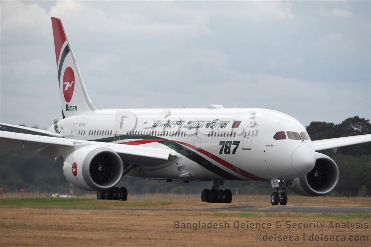 Biman-Boeing announce $585 million deal at Dubai Airshow 2019