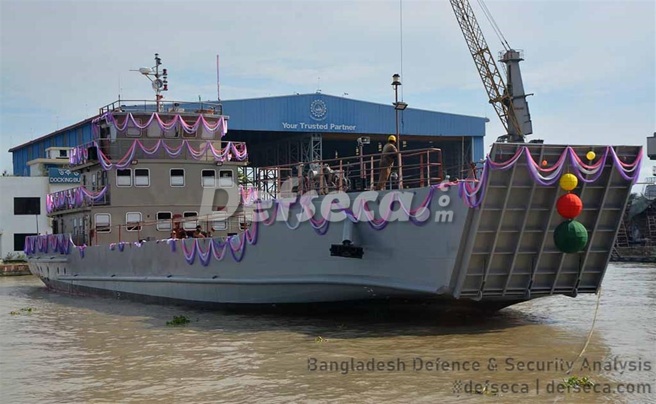 Khulna Shipyard delivers LCU to Bangladesh Navy