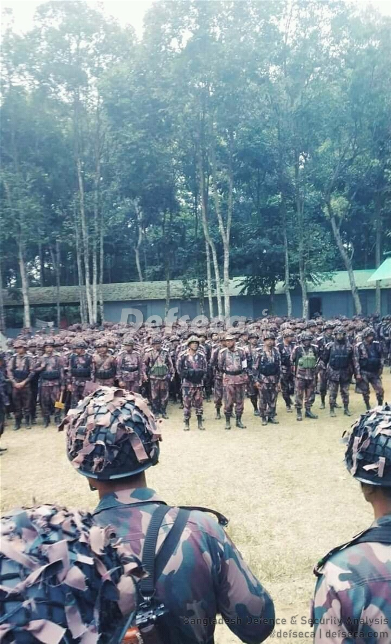 BGB holding winter exercise with the Bangladesh Army