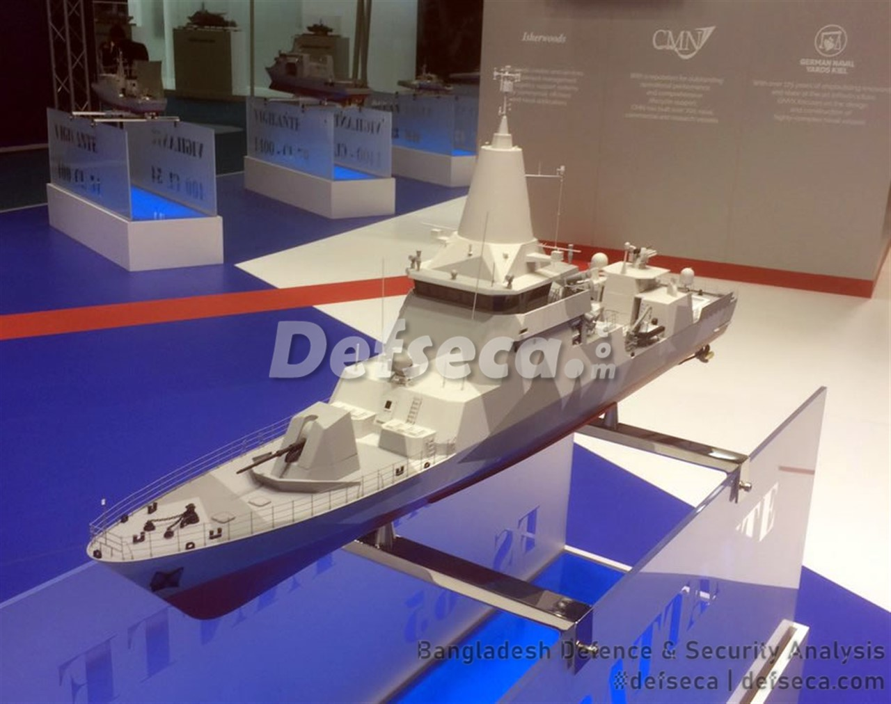DEW wins contract for Bangladesh Navy's next generation LPC