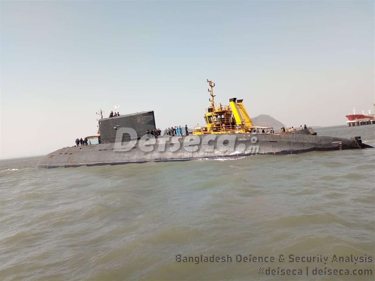 India delivers Kilo class submarine to Myanmar Navy