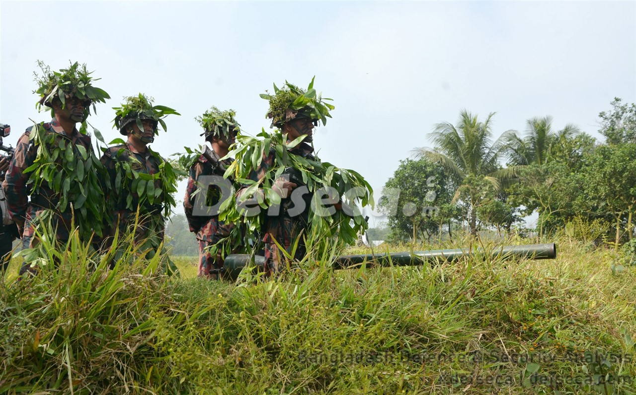 4,000 BGB troops take part in exercise with Bangladesh Army