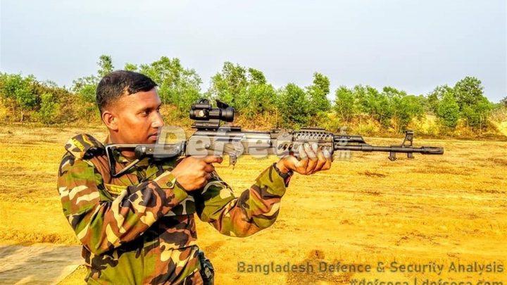 Bangladesh Army inducts new submachine guns