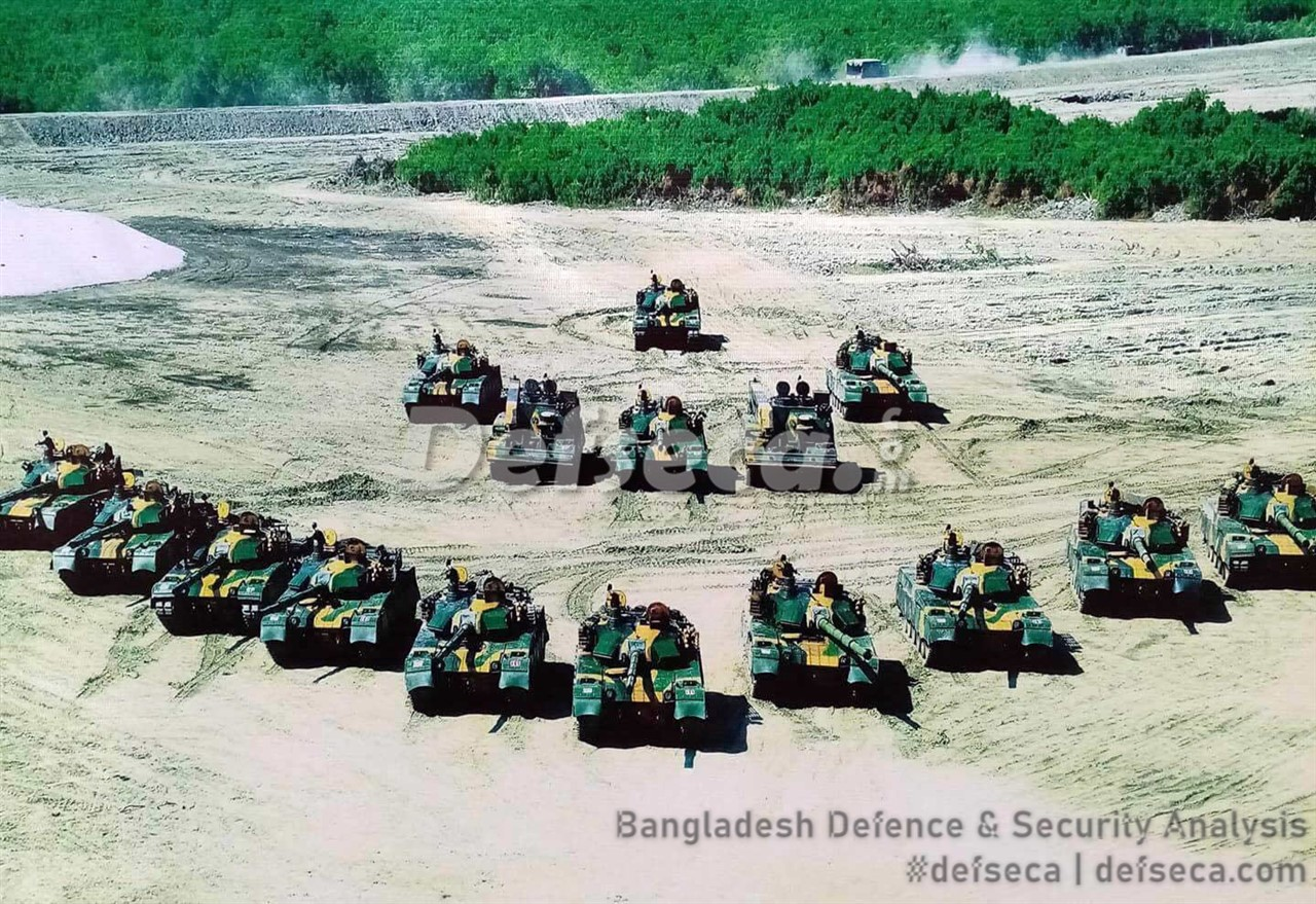 Bangladesh Army purchased a thousand armoured fighting vehicles in a decade