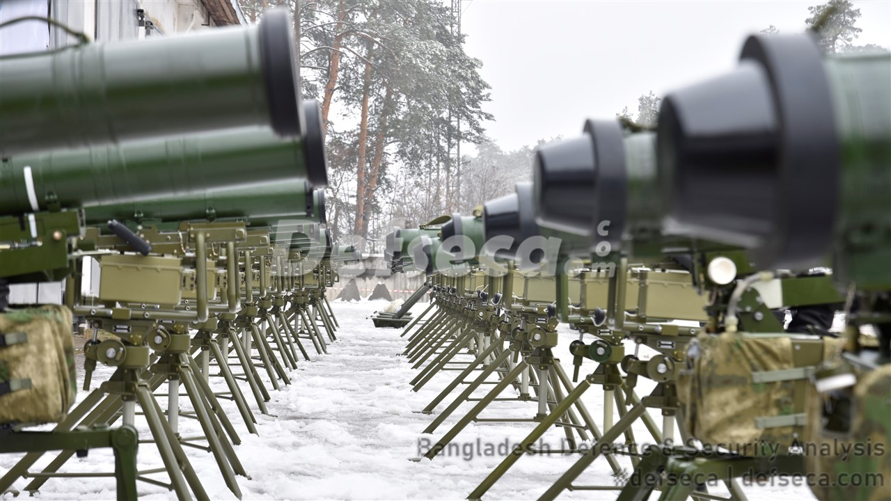 BGB purchases anti-tank guided missiles from Ukraine