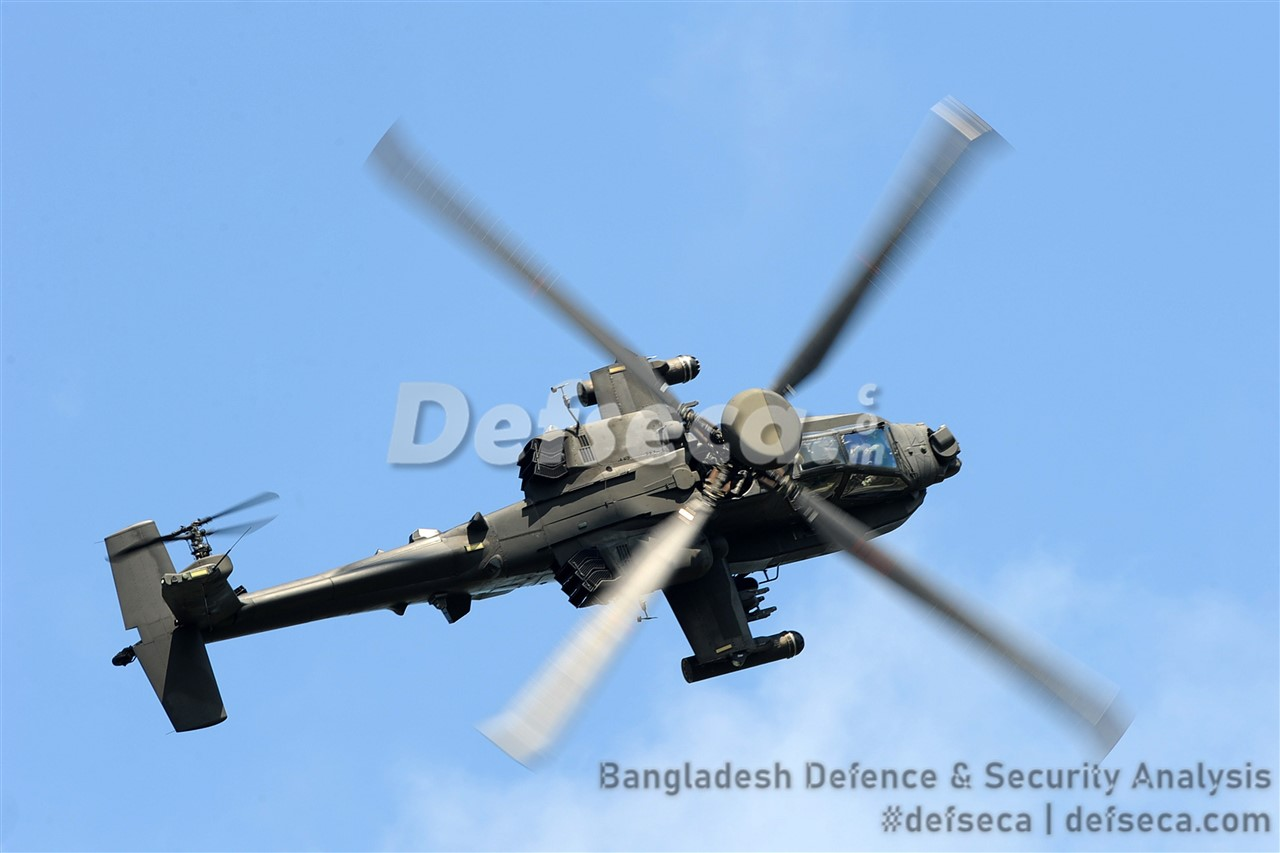 Boeing confirms Bangladesh selected AH-64E Apache attack helicopters