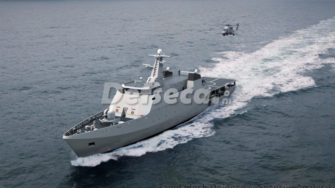 CDDL to build 6 offshore patrol vessels for Bangladesh Navy