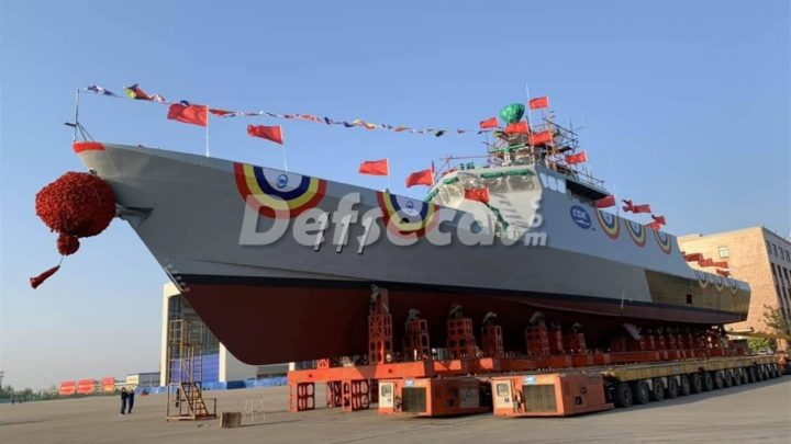 RMN receives first of four littoral multi-role ships