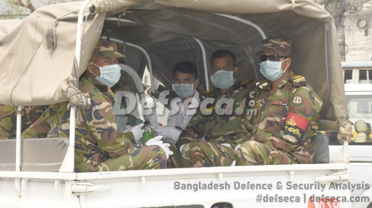 Bangladesh military starts recce of districts