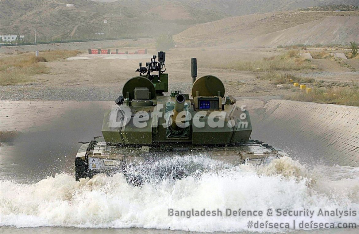Bangladesh Army becomes the launch customer for VT-5 light tank