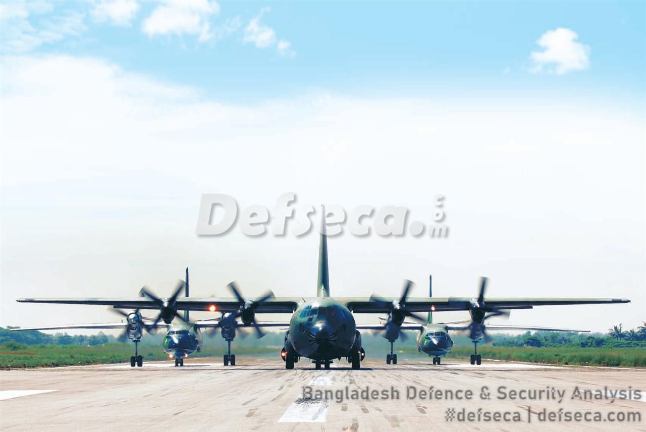 Bangladesh military's air mobility capabilities