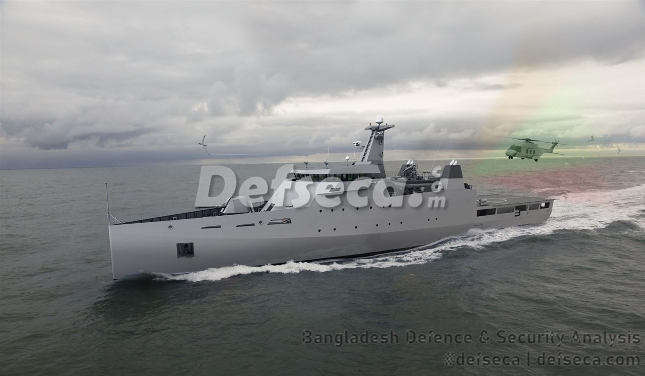Bangladesh Navy set on ultra-modern Damen OPV