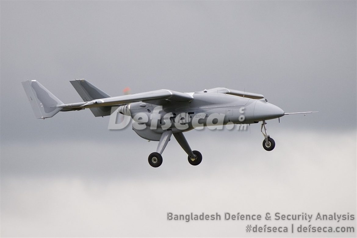 Bangladesh Air Force buys Falco EVO UAVs from Italy