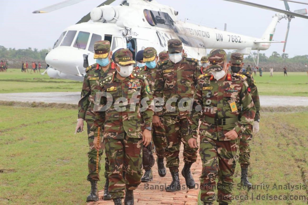 Bangladesh Army deployed in COVID-19 red zones