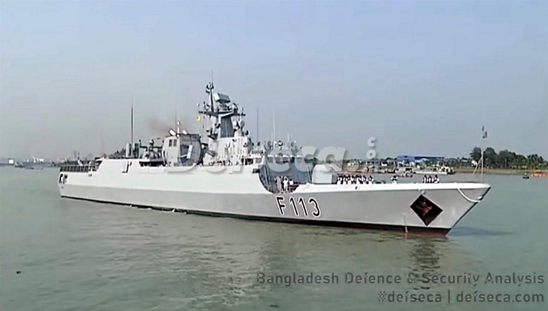 Bangladesh Navy commissions new guided missile corvette Sangram