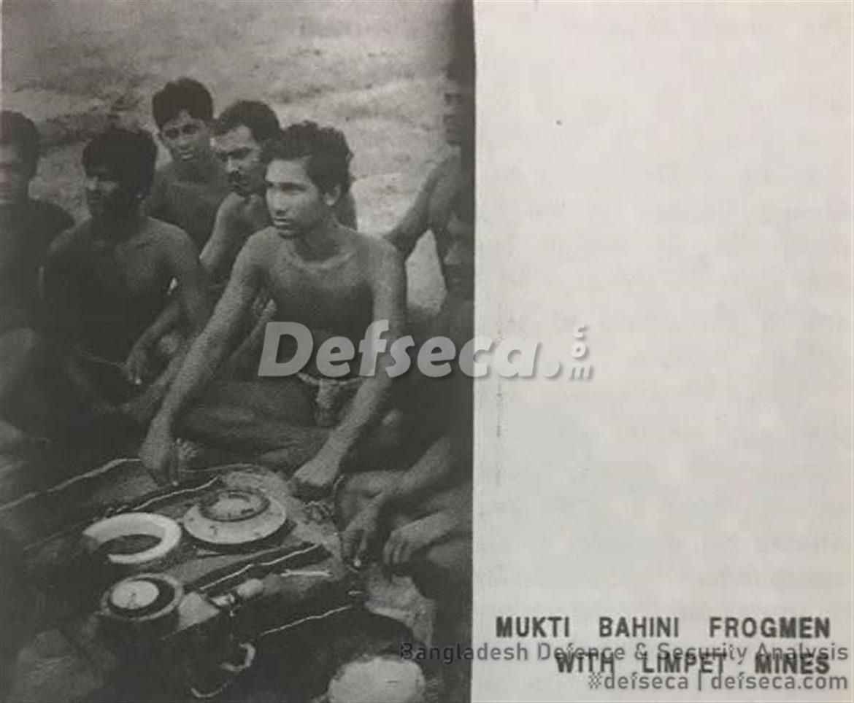 Forerunner to Bangladesh Navy SWADS – Mukti Bahini Frogmen