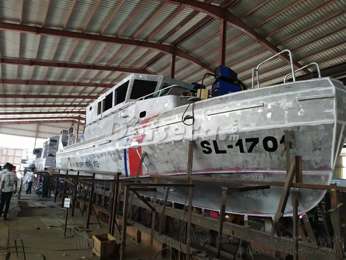Khulna Shipyard builds high speed ferry boats for Bangladesh Coast Guard