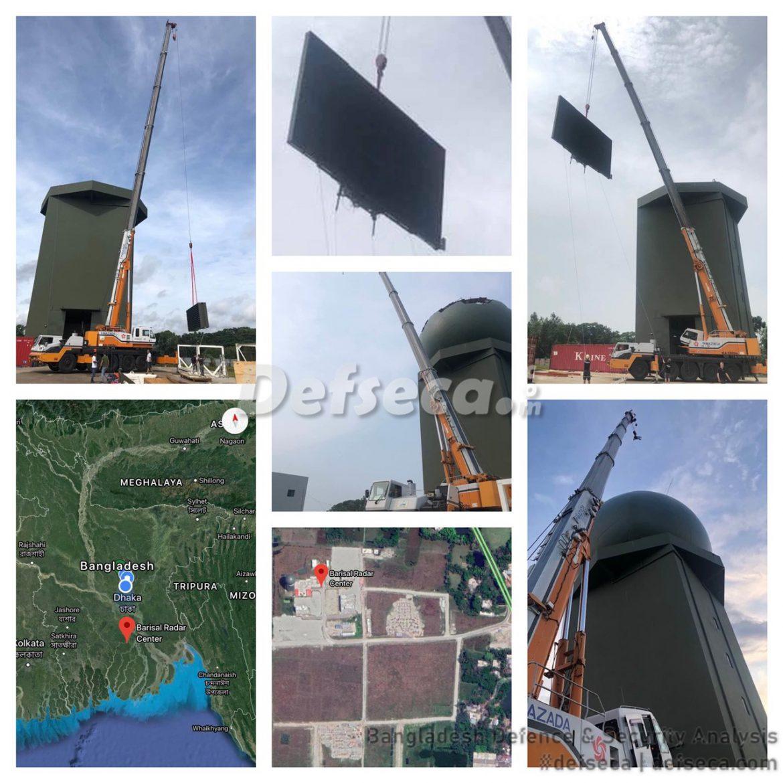 Leonardo long-range 3D radar operational in Barisal