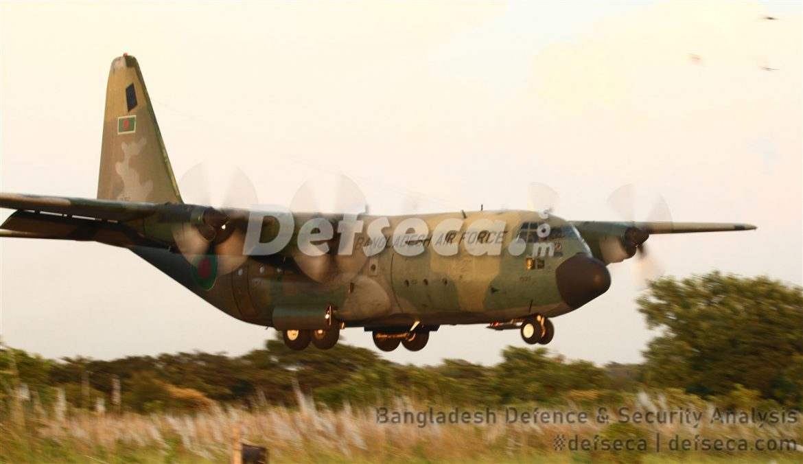 Bangladesh Air Force awards C-130B MRO contract to Cascade Aerospace