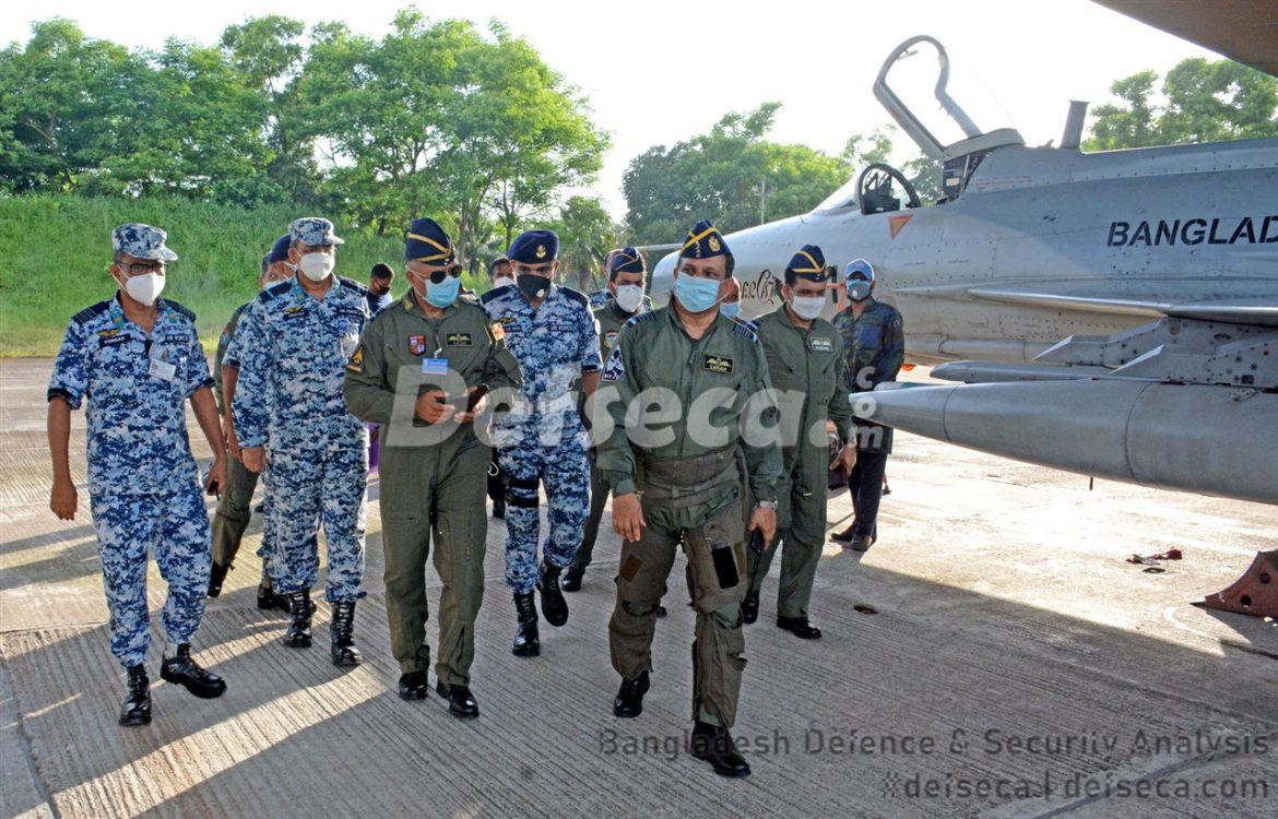 Bangladesh Air Force conducts large scale air defence exercise