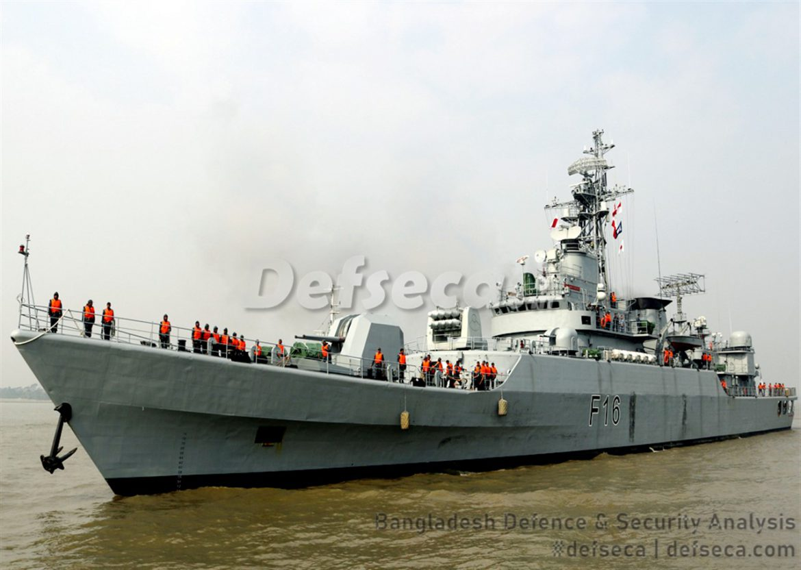 Bangladesh Navy's frigates equipped with long range radar systems