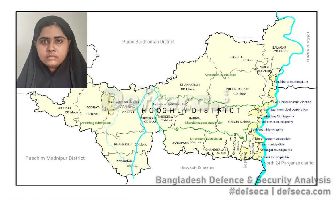 CTTC arrests Indian female terrorist from Dhaka