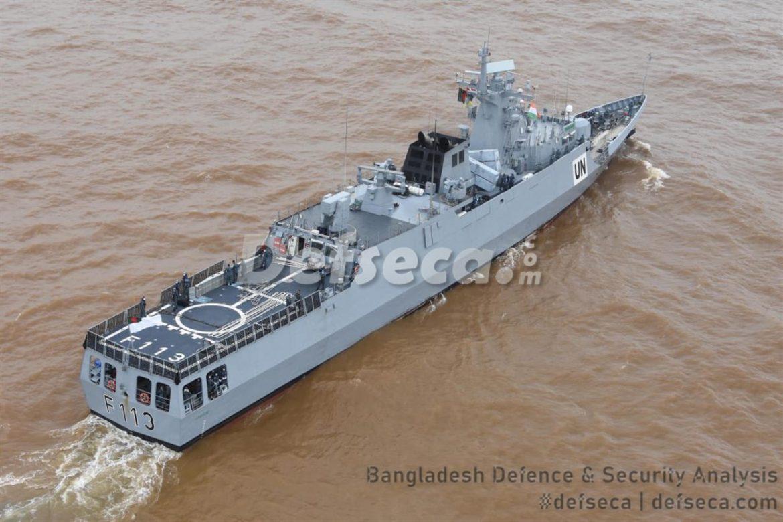 BNS Sangram visits Goa